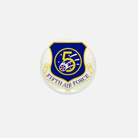USAF-5th-AF-Shield Mini Button