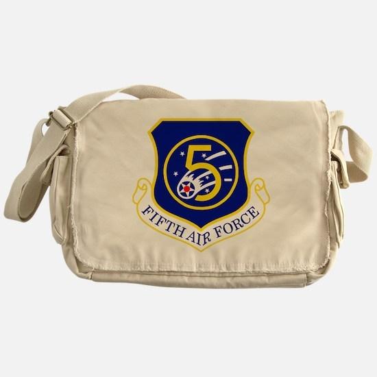 USAF-5th-AF-Shield Messenger Bag