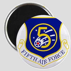 USAF-5th-AF-Shield Magnet
