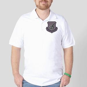 3-USAF-PAF-Shield-Grey-x Golf Shirt