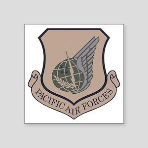 "USAF-PAF-Shield-ABU Square Sticker 3"" x 3"""
