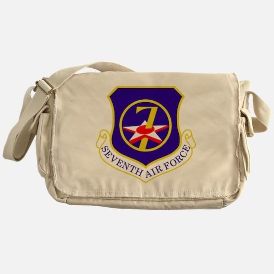 USAF-7th-AF-Shield Messenger Bag