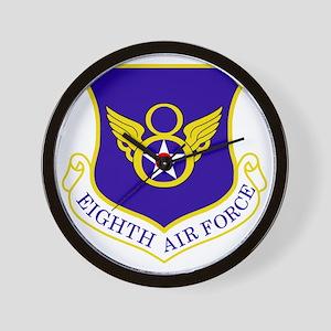 USAF-8th-AF-Shield-Bonnie Wall Clock