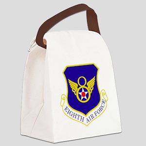 USAF-8th-AF-Shield-Bonnie Canvas Lunch Bag