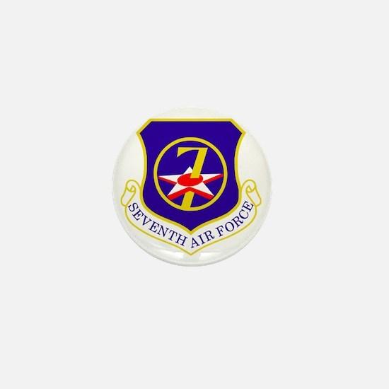 USAF-7th-AF-Shield Mini Button