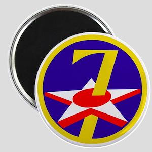 USAF-7th-AF-Patch Magnet