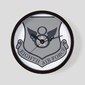 USAF-8th-AF-Shield-ABU Wall Clock