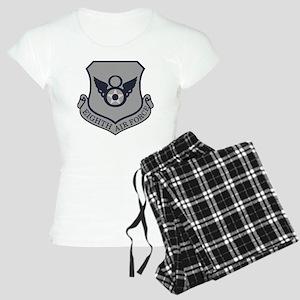 USAF-8th-AF-Shield-ABU Women's Light Pajamas