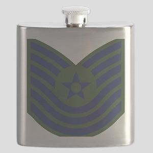 USAF-MSgt-Old-Green Flask