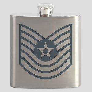 USAF-MSgt-Old-Blue Flask