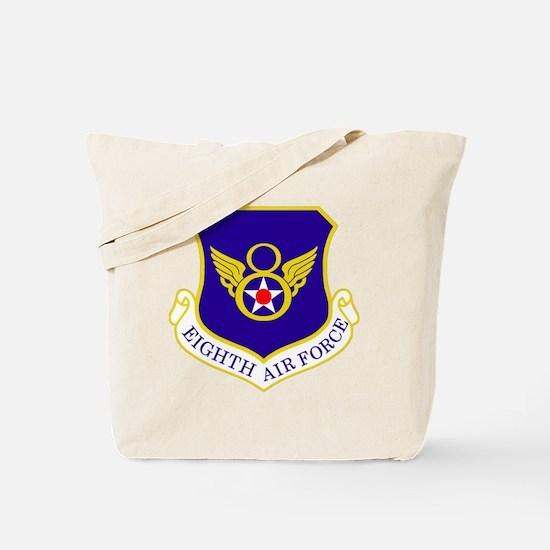 USAF-8th-AF-Shield-Bonnie Tote Bag