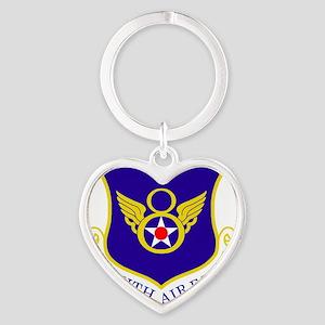 USAF-8th-AF-Shield-Bonnie Heart Keychain