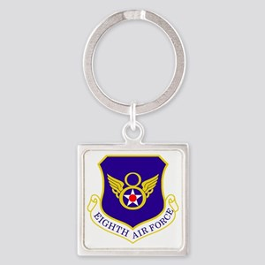 USAF-8th-AF-Shield-Bonnie Square Keychain
