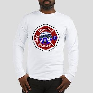 2-Duluth-Fire-Dept Long Sleeve T-Shirt
