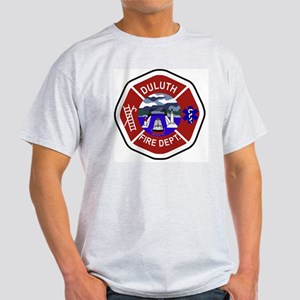 2-Duluth-Fire-Dept Light T-Shirt