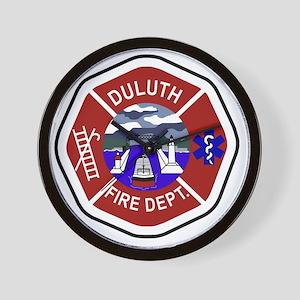 2-Duluth-Fire-Dept Wall Clock