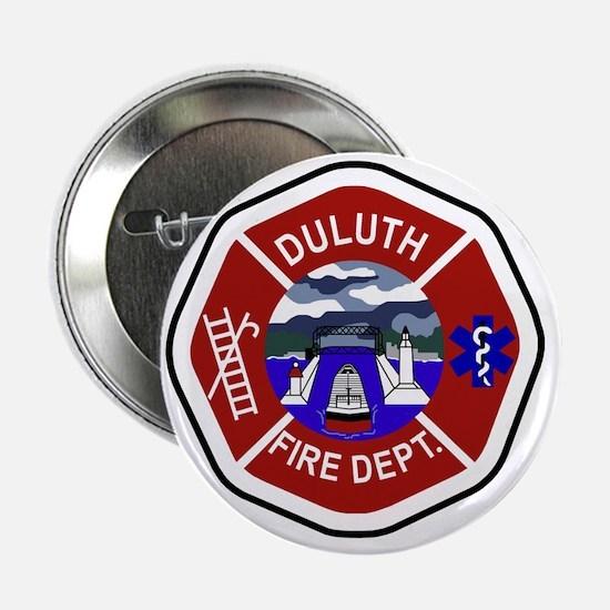 """2-Duluth-Fire-Dept 2.25"""" Button"""