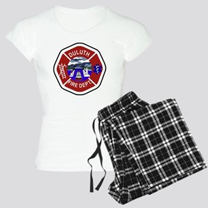 2-Duluth-Fire-Dept Women's Light Pajamas