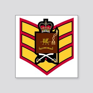 """British-Army-Welsh-Guards-C Square Sticker 3"""" x 3"""""""