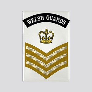 British-Army-Welsh-Guards-CSgt-Kh Rectangle Magnet
