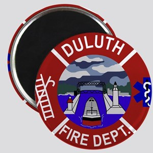 Duluth-Fire-Dept-Pastel Magnet