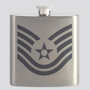 USAF-TSgt-Inverse-Four-Inches Flask