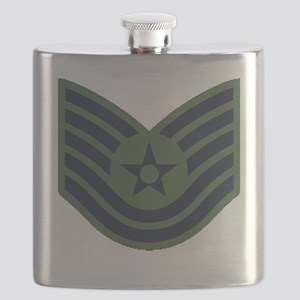 USAF-TSgt-Woodland Flask