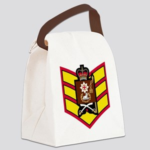 British-Army-Coldstream-Guards-CS Canvas Lunch Bag