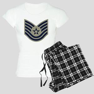 USAF-TSgt-ABU-Four-Inches Women's Light Pajamas