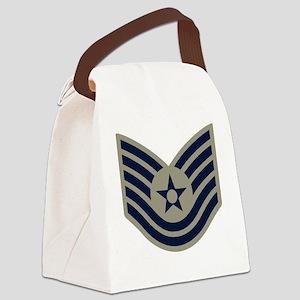 USAF-TSgt-ABU-Four-Inches Canvas Lunch Bag