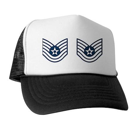 USAF-TSgt-Mug Trucker Hat
