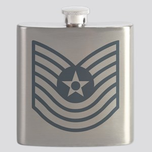 USAF-MSgt-Old-Blue-Four-Inches Flask