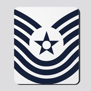 USAF-MSgt-Old-Inverse Mousepad
