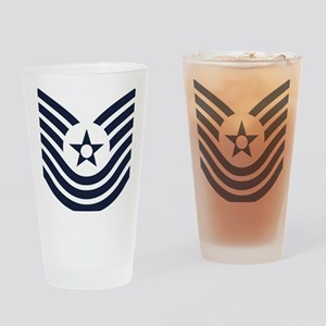 USAF-MSgt-Old-Inverse Drinking Glass