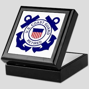 USCG-Retired-Bonnie Keepsake Box