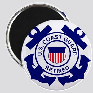 USCG-Retired-Bonnie Magnet