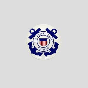 USCG-Retired-Bonnie Mini Button