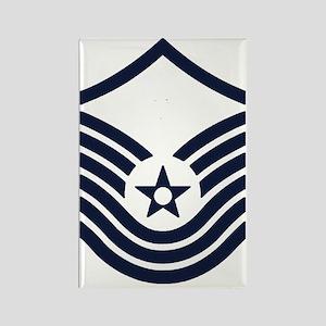 USAF-SMSgt-Old-Inverse- Rectangle Magnet