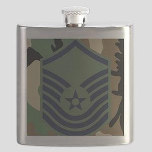 USAF-SMSgt-Old-Mousepad-6 Flask