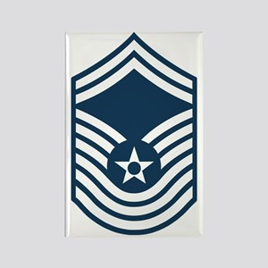 USAF-CMSgt-Old-Blue- Rectangle Magnet