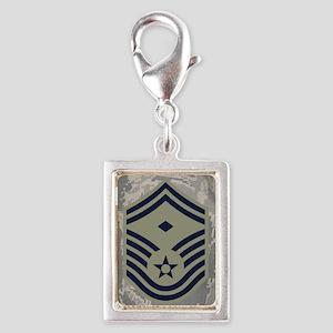 USAF-First-SMSgt-Journal-ABU Silver Portrait Charm