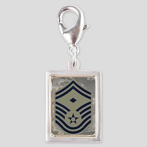 USAF-First-SMSgt-Magnet-ABU Silver Portrait Charm