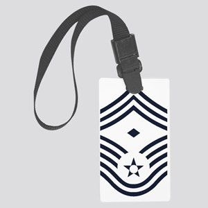 USAF-First-CMSgt-Inverse- Large Luggage Tag
