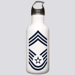 USAF-CMSgt-Inverse Stainless Water Bottle 1.0L