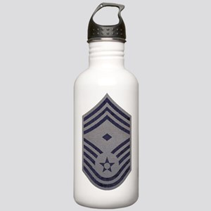 USAF-First-CMSgt-ABU-F Stainless Water Bottle 1.0L