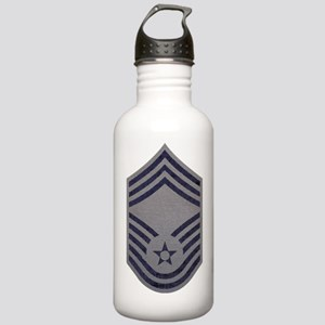 USAF-CMSgt-ABU-Fabric- Stainless Water Bottle 1.0L
