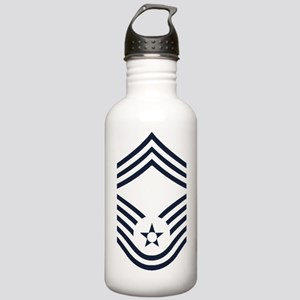USAF-CMSgt-Inverse- Stainless Water Bottle 1.0L