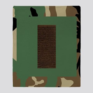 USAF-2Lt-Mousepad-Woodland Throw Blanket