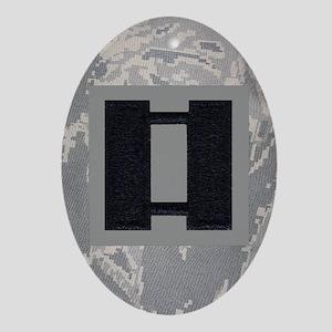 USAF-Capt-Journal-ABU Oval Ornament