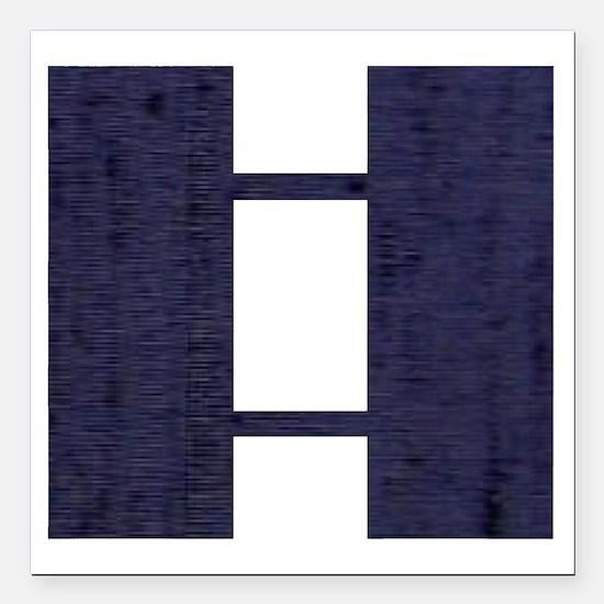 "USAF-Capt-Midnight-Blue Square Car Magnet 3"" x 3"""
